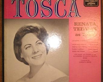 Renata Renaldo - Puccini, Tosca RS-62002 Vinyl Record 2LP 1953