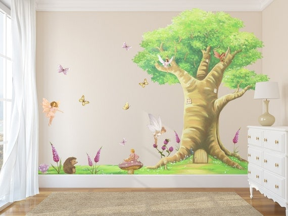 Fairy Decals Fairies Fairy Wall Stickers Fairy Wall Decals