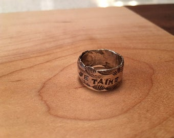 Je Taime, Sterling Silver, Hearts of Love Ring, size 5, ready to ship