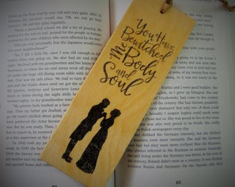 Jane Austen Bookmark Bewitched Me Body and Soul