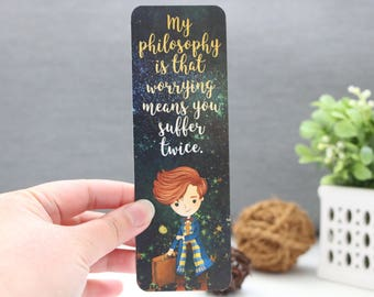 My Philosophy Bookmark - Magical Beasts Book Series