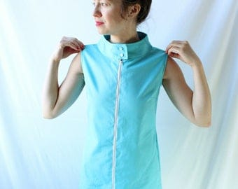 Vintage Blue Shift Dress