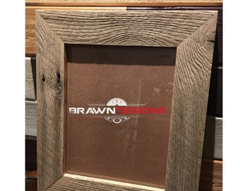11x14 Barnwood picture frame