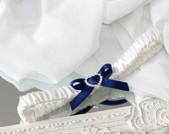 navy blue wedding, navy blue garter, navy blue wedding garter, dark blue wedding garter, dark blue garter, plus size garter, blue garter