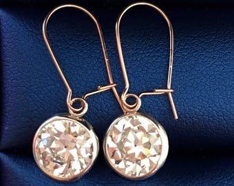 Bridal earrings, Bridal jewelry, Wedding earrings drop, Wedding earrings, drop earrings, Wedding jewelry for Brides, Bride earrings, OEC