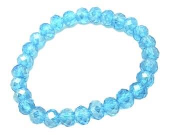 Never Blue Crystal Bracelet