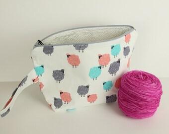 Baa Baa Baby Medium project bag