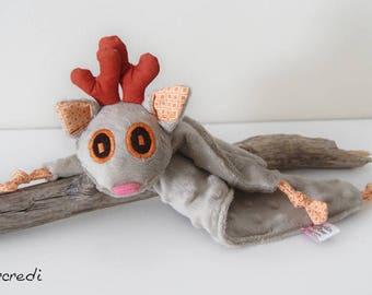 Deer blankie - Stuffed Animal - Blankie - Baby Shower Gift - Baby gift