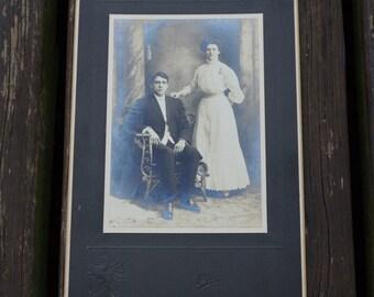 Vintage Photo of a Man & Woman