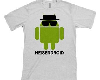 Breaking Bad, Walter White, Heisenberg, Heisendroid, Android, Android T shirt, Geeky, Breaking Bad t-shirt, Android t-shirt, Android tee