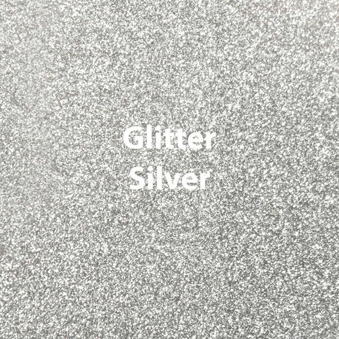 12 Quot X 15 Quot Or 12 Quot X 20 Quot Silver Glitter Htv Sheets High
