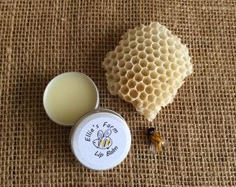 Beeswax Lip Balm, Handmade Lip Balm, Wedding Favour, Natural Skincare, Natural Lip Balm, Lip Balm Tin, Beeswax, UK, Birthday Present, Gift