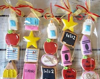 20 Teacher Appreciation Mini Cookies