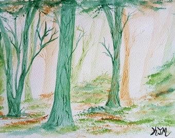 Golden Woods (Original)