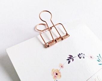1x Bracelet metal rose gold - 3,3cm