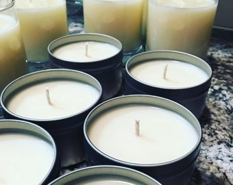Two Candles - 8 oz Soy Candle in Tin - Captiva Cooler