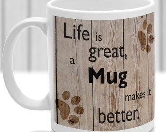 Mug dog mug, Mug gift, dog breed mug, ideal present for dog lover