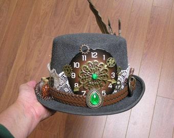 Steampunk Hat - Sly Fox Hunter - artist: Connie Thompson / Gadget Gal Lab