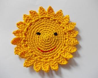 Sun - crochet