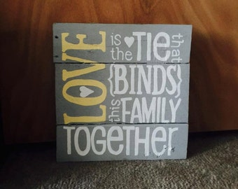 Love Is A Tie That Binds This Family Together