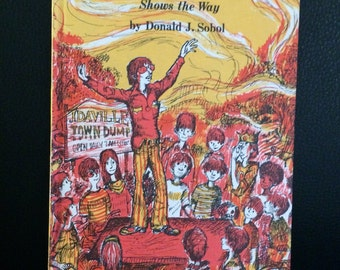 Encyclopedia Brown Shows the Way by Donald J. Sobol HC Weekly Reader Books 1972