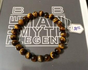 USA FREE SHIPPING!! Gents Genuine Gemstone Bracelets- 3 choices