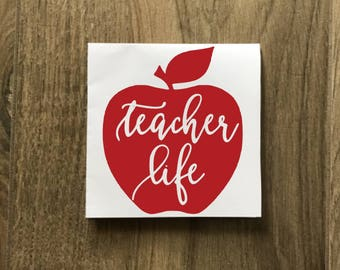 Teacher Decal Super Teacher Decal Superman Decal Apple