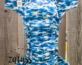 To order * diaper United blue Camo pattern