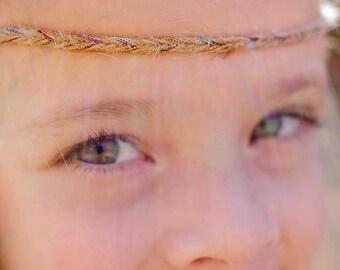 Tiana Tie / Newborn Headband / Newborn headband prop