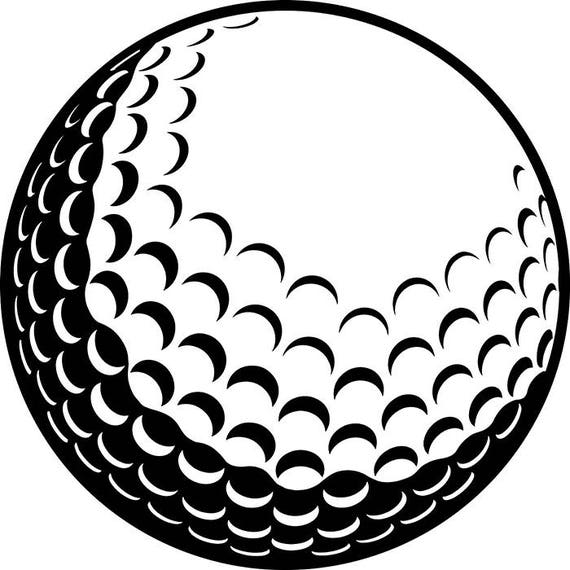 Golf Ball #2 Tournament Clubs Iron Wood Golfer Golfing ...
