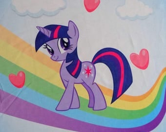 Twilight Sparkle My Little Pony French Terry Panel