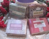 VALENTINE'S SOAP SALE! large bars