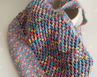 Crochet kit for a reuseable washable eco friendly market/grocery/shopping bag
