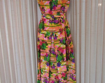 1960's Long Hippie Dress