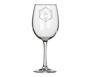 D20 die DnD pint glass, Dungeons, Dragons, Nerdy geeky gift, die dice, dragons, D20s, dnd dice set, d20 die, d20 dice, you choose number