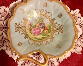 Lefton Hand Painted Candy Dish