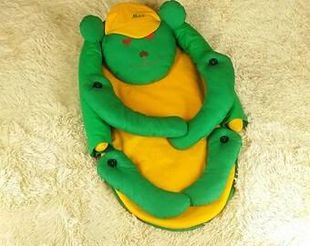 Personalized babynest + pillow, baby nest, newborn babynest, baby cocoon, newborn nest, sleep nest,Embroidery, Monogram