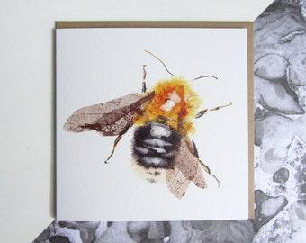 Tree Bumblebee Card