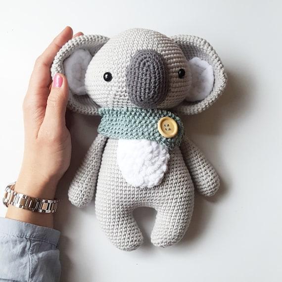 Amigurumi Hakel Anleitung Koala Pepe
