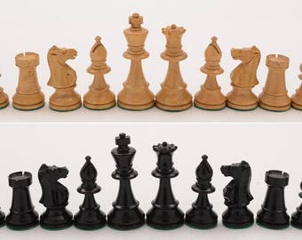 Staunton Style Chess Set, Circa 1920