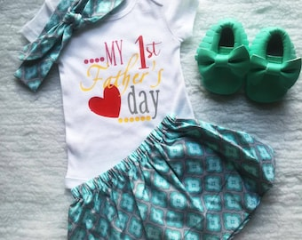 Free shipping,Fathers day,First Fathers day,Papa,Dad,daddy,Gift,Baby,Outfit,Onesie,Skirt,Diapers Covers