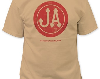 Jefferson Airplane Mens Bark Tee (JA03)