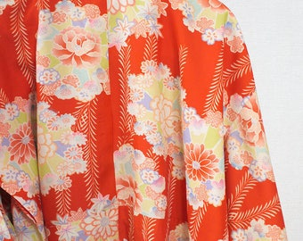second hand juban, garment worn under kimono, Japanese vintage juban for women