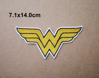 Wonder Woman patch, Superhero patch, Embroidered patches, Iron on patches, Sew on patch, WS-42