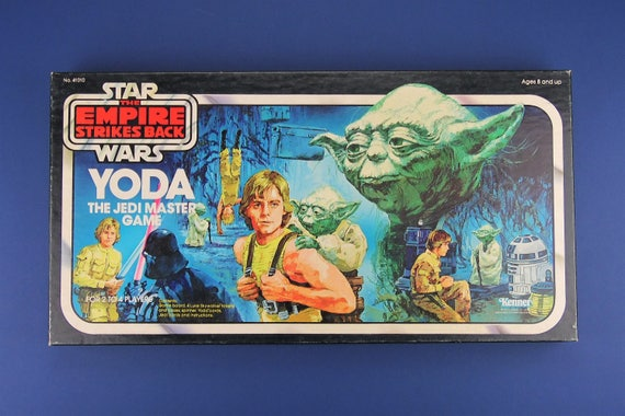 Yoda The Jedi Master Board Game 1981 Vintage Star Wars The