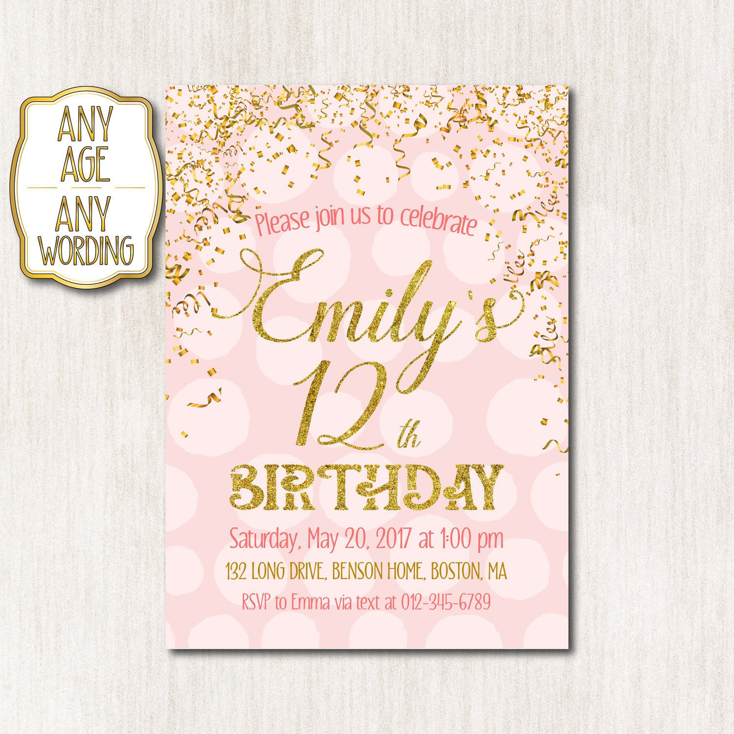 Rainbow Party Invitation Wording was Luxury Template To Make Awesome Invitation Ideas