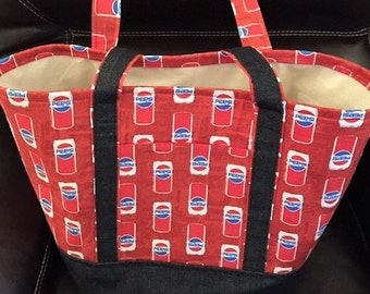 Pepsi Grocery Tote Bag