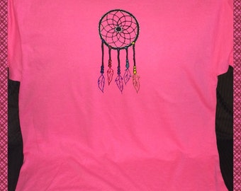 Dreamcatcher Tshirt Hand Painted