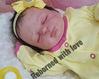 Reborn doll Custom Made to order Lucy newborn baby doll by Marissa may