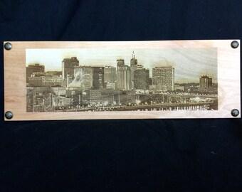 St. Paul Minnesota Skyline - Engraved City Skyline